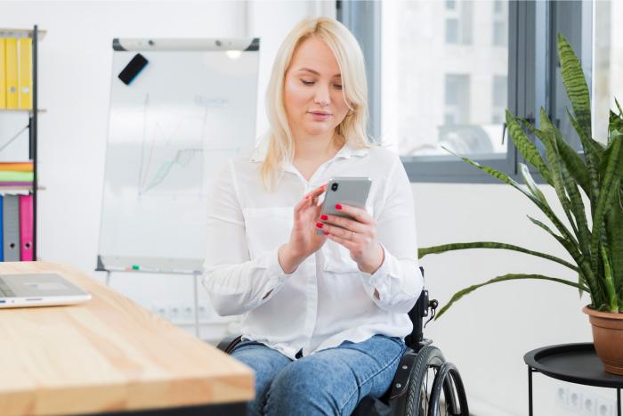 app para encontrar trabajo personas discapacidad